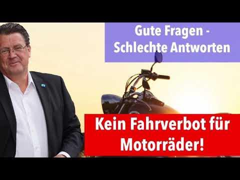AfD für die Freiheit! Kein Fahrverbot für Motorräder!