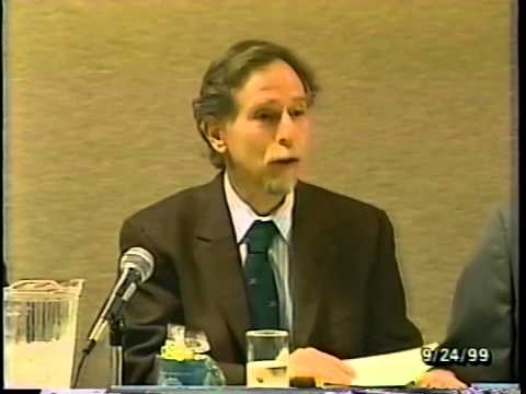 11th Envisioning California Conference 1999: Panel 5/6 - Multidisciplinary Views of CA Citizens