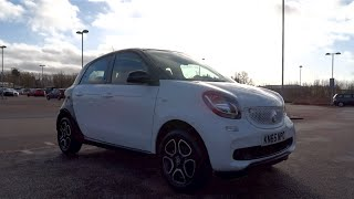 2015 smart forfour 0.9 Turbo prime Start-Up and Full Vehicle Tour
