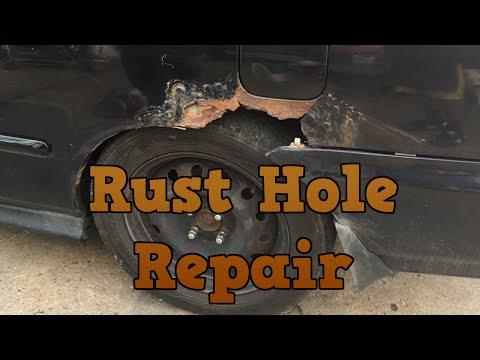 1996 Honda Civic - Major Rust Hole Repair (Part 1)