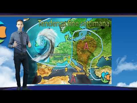 Previsioni meteo Italia weekend 19-21 Maggio 2017