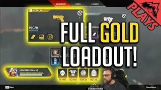 FULL Gold Loadout! - Apex Legends