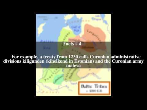 Curonian language Top # 5 Facts