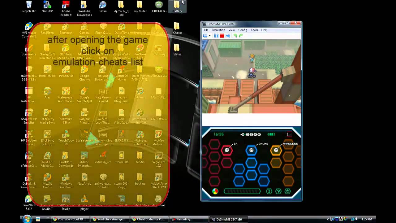<b>cheat codes</b> for <b>pokemon black</b> and white for (emulator)&quot;potions ...