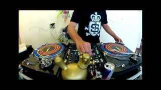 DJ Nedu Lopes - Red Bull Thre3Style World Final Routine 2012