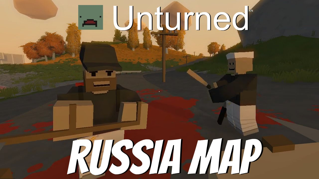 Unturned Multiplayer Survival- EP2 - Russia Map & Server Announcement - YouTube