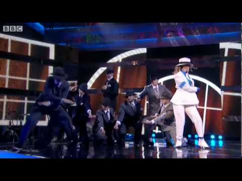 Debra Stephenson performs Smooth Criminal  Let's Dance for Sport Relief   2  BBC One