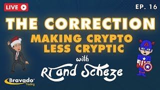 The Correction - w/ RT Ep.16 - Is it time to Long BTC? + Market Review