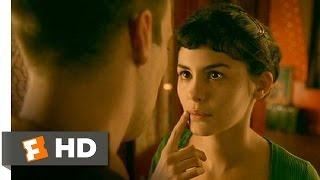 Amélie (11/12) Movie CLIP - Speechless Kiss (2001) HD