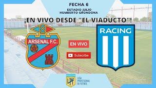 Arsenal vs Racing Club (EN VIVO) | Copa DIEGO ARMANDO MARADONA (Fecha 6)