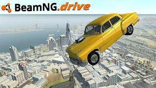 BeamNG.drive - BIGGEST MAP (HUGE UPDATE)