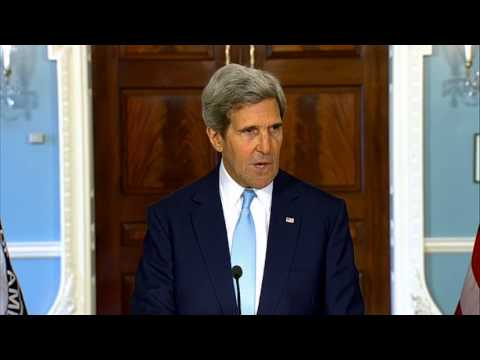 Secretary Kerry Delivers Remarks on the Situation in Syria