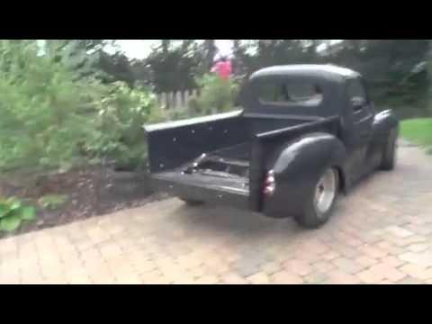morris minor pickup custom 2l youtube. Black Bedroom Furniture Sets. Home Design Ideas
