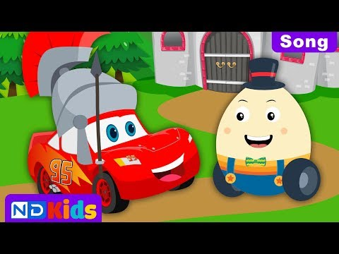 Humpty Dumpty - Cartoons For Kids - Lightning McQueen
