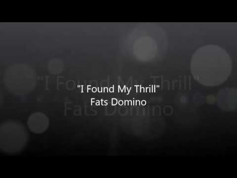 'I Found My Thrill' Fats Domino- Travis Hamm Cover