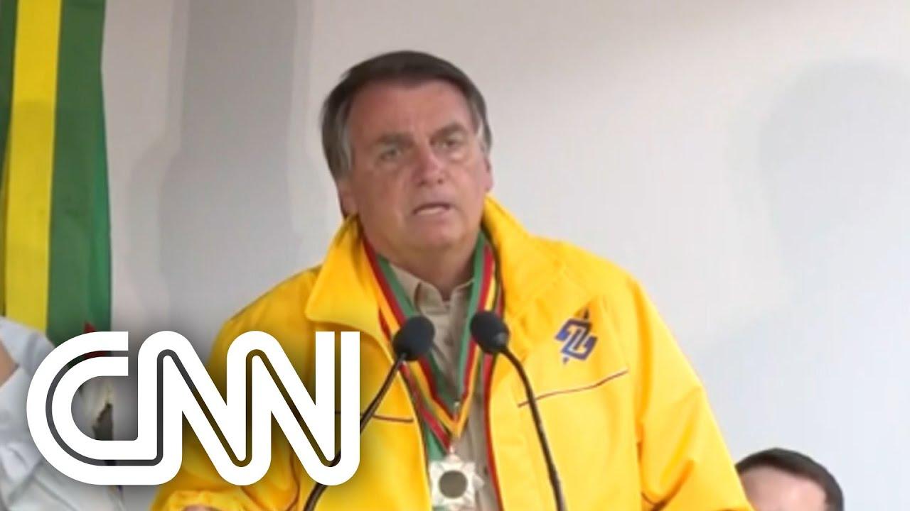 Bolsonaro: Vivemos ainda momentos conturbados, mas as coisas começam a se ajustar | CNN Brasil