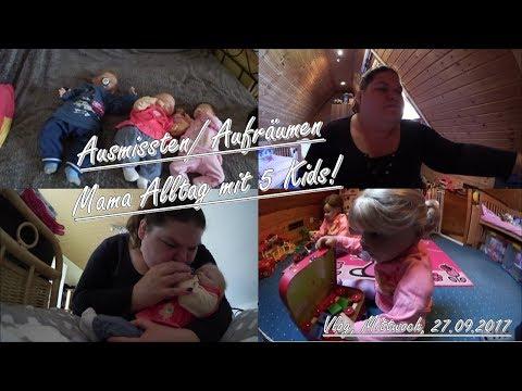 Reborn Mama-Alltag mit 5 Kids! || Vlog, 27.09.2017 || Reborn Baby Deutsch || Little Reborn Nursery