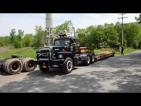 Detroit Diesel Brockway Recovery