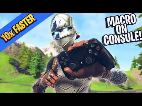 HOW TO *MACRO* ON CONSOLE (XBOX/PS4) EDIT 10X FASTER! - Fortnite Editing Guide