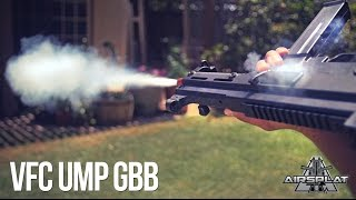 vfc ump deluxe gbb airsoft smg teaser airsplat on demand