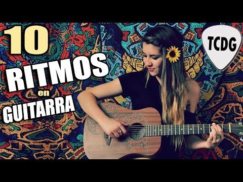 Aprende A Tocar Los 10 Ritmos y Rasgueos Principales En Guitarra Acústica Para Principiantes | TCDG