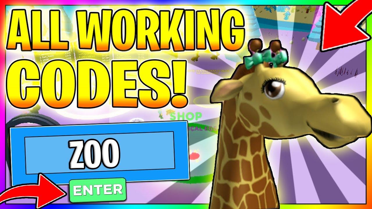 All New Egg Simulator Codes 2020 Zoo Update Roblox Egg Simulator Youtube
