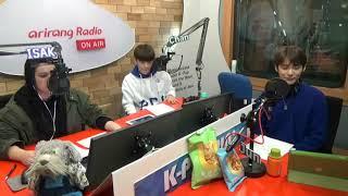 [171101] MC Jun & Chan on Arirang Radio K-POPPIN' IDOL CLASS 4