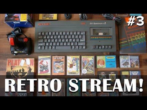 Let's Play ZX Spectrum on the original hardware!  - Live Spectrum +2 gameplay