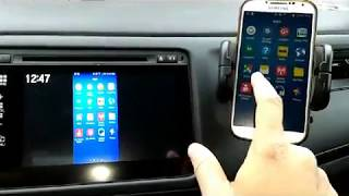 Car HDMI connection with ROKU stick device