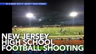 Play-by-play audio captures shooting at high school football game