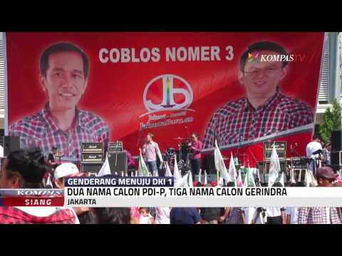 PDIP - Gerindra Kerja Sama Di Pilkada DKI?