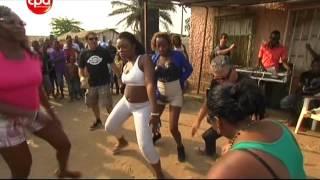 Xutos & Pontapés a dançar kuduro em Luanda (Angola) // 06.10.2012