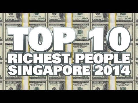 Top 10 Richest People In Singapore 2014