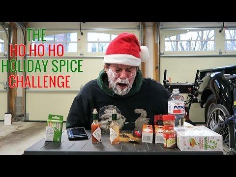 The HO HO HO Holiday Spice Challenge | L.A. BEAST