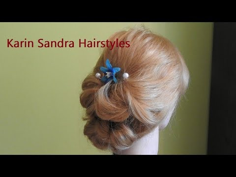 Easy bridal Updo |Wedding hairstyle | Red Carpet Hairstyle | Low bun
