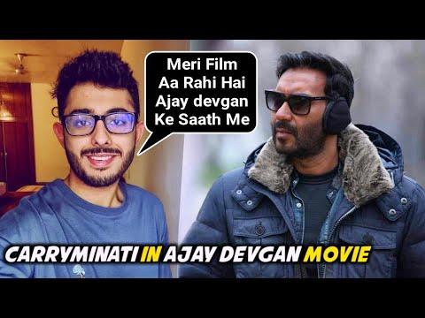 Carryminati Bollywood Debut With Ajay Devgan & Amitabh Bachchan Mayday | Carryminati aka Ajey Nagar