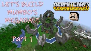 Lets Build Mumbo Jumbo's Hermitcraft Season 7 Megabase (Tutorial series) - Part 1
