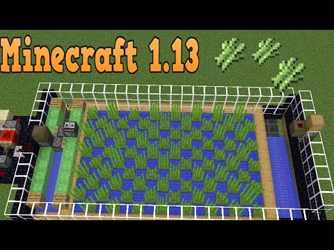 minecraft compact efficient sugarcane farm youtube. Black Bedroom Furniture Sets. Home Design Ideas
