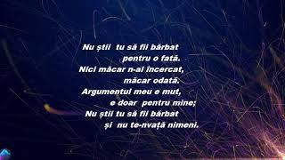 Irina Rimes - Nu Stii Tu Sa Fii Barbat VersuriLyrics
