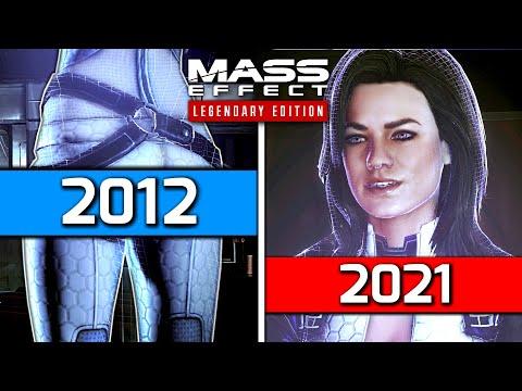 Miranda's 2nd Butt Scene in Mass Effect 3 (2012) vs Mass Effect Legendary Edition (2021)