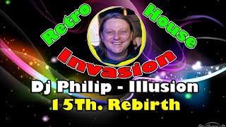 Illusion and La Rocca dj Philip mix at Retrohouse Invasion 15