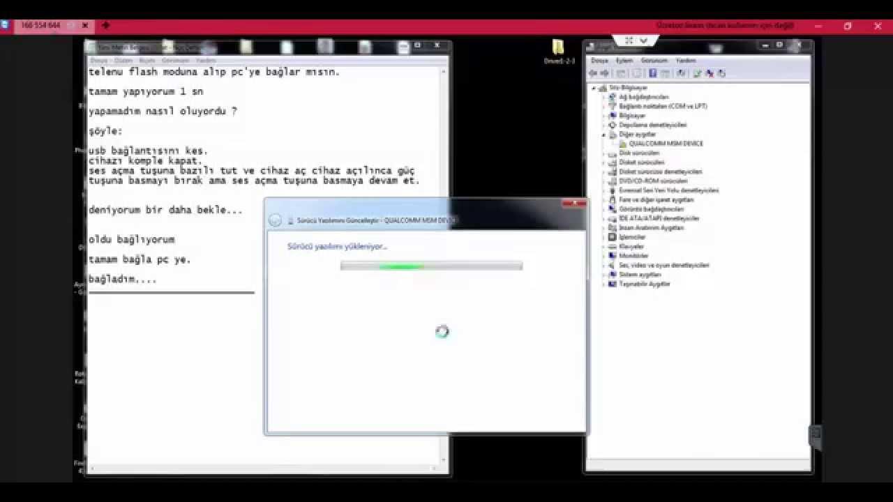 Qualcomm msm devive / usb driver windows 7 youtube.