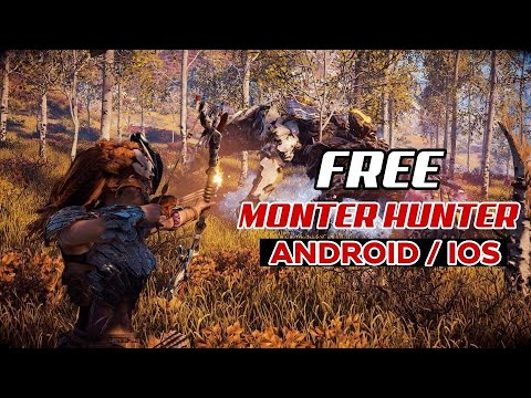 TOP 5 BEST GAME FREE MONTER HUNTER ON ANDROID / IOS