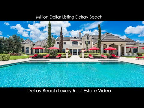 Million Dollar Listing Delray Beach | 16021 Quiet Vista Cir, Delray Beach, FL 33446 |  Unbranded