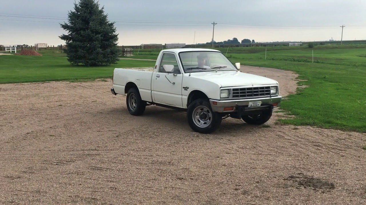 bigiron com 1981 isuzu pup 4x4 pickup 09 20 17 auction [ 1280 x 720 Pixel ]