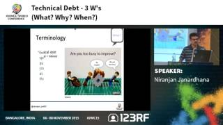 JWC15 - Technical Debt - 3 Ws [What? Why? When?]