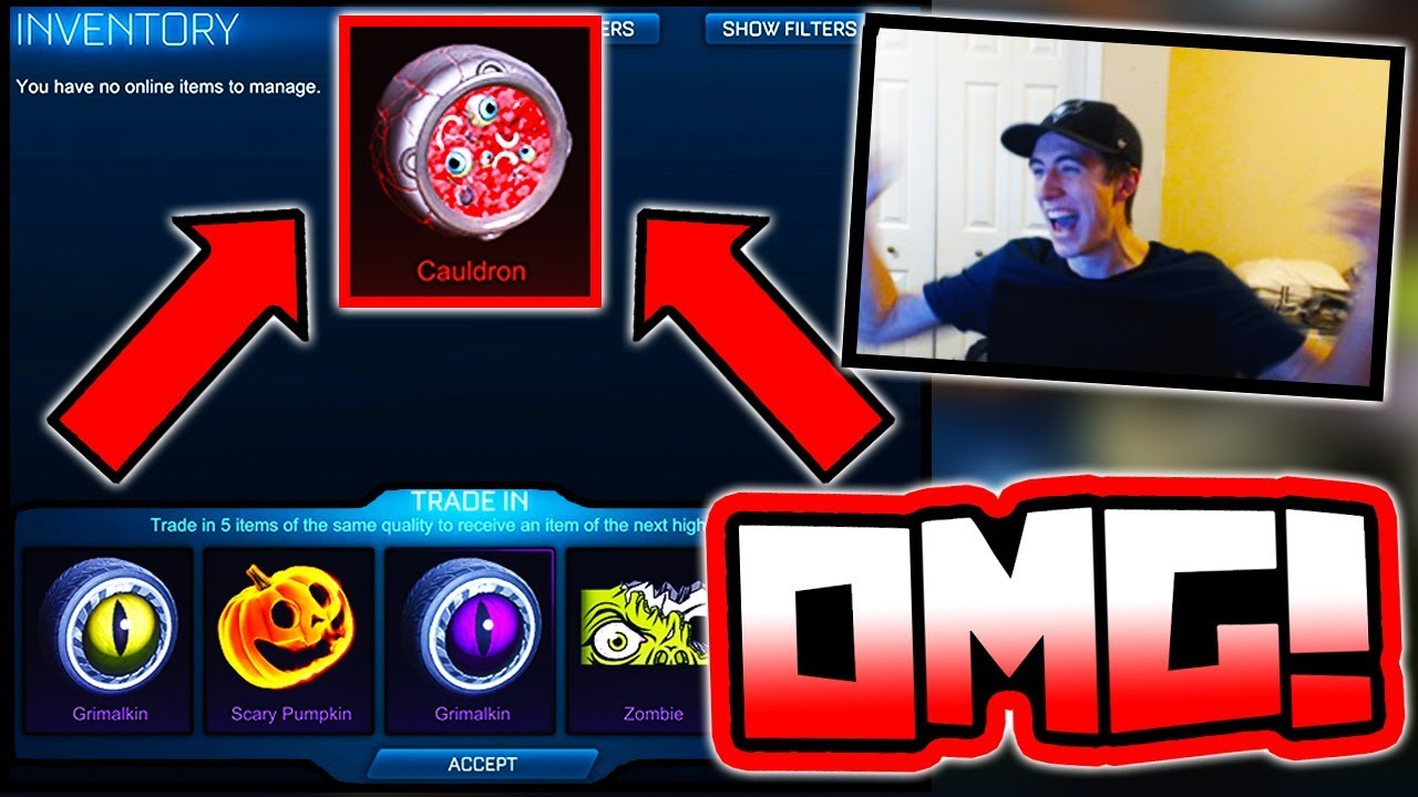 """biggest 90+ """"hh crate"""" trade up on youtube!! ( rocket league"""