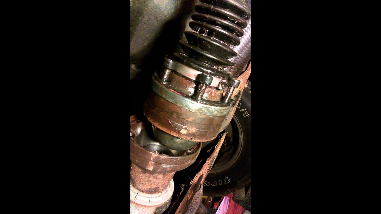 Drive Shaft Removal Ford Escape Youtube