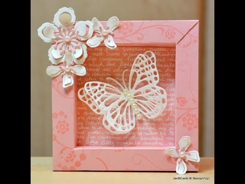 Shadow Box - JanB UK Stampin' Up! Demonstrator Independent