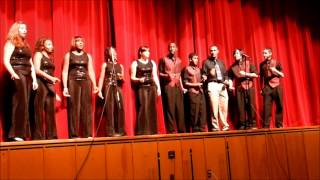 Mad Jazz Choir April 21, 2012 at Killeen High School Spring Show
